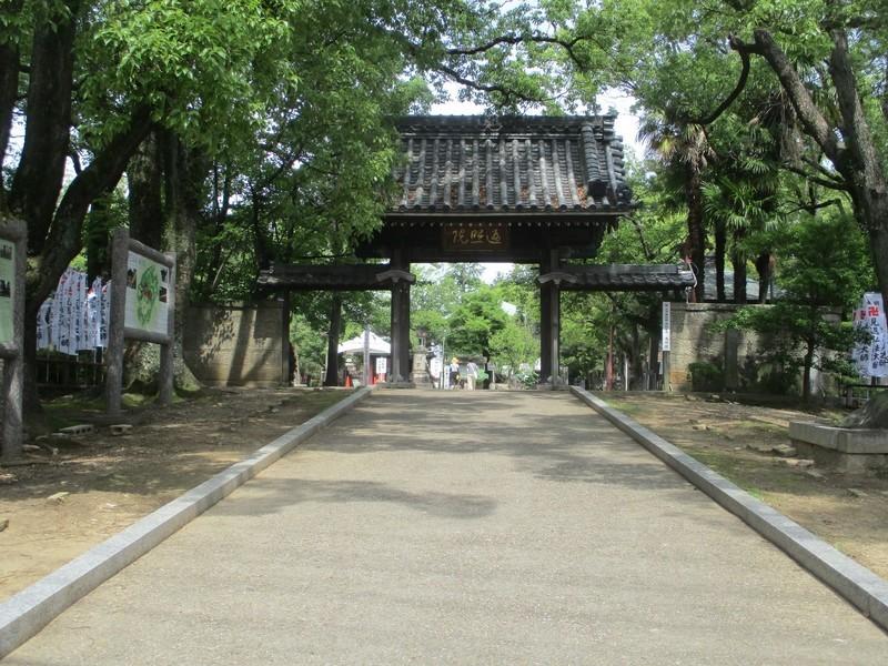 2020.6.21 (4) 知立の弘法さん - 山門 2000-1500