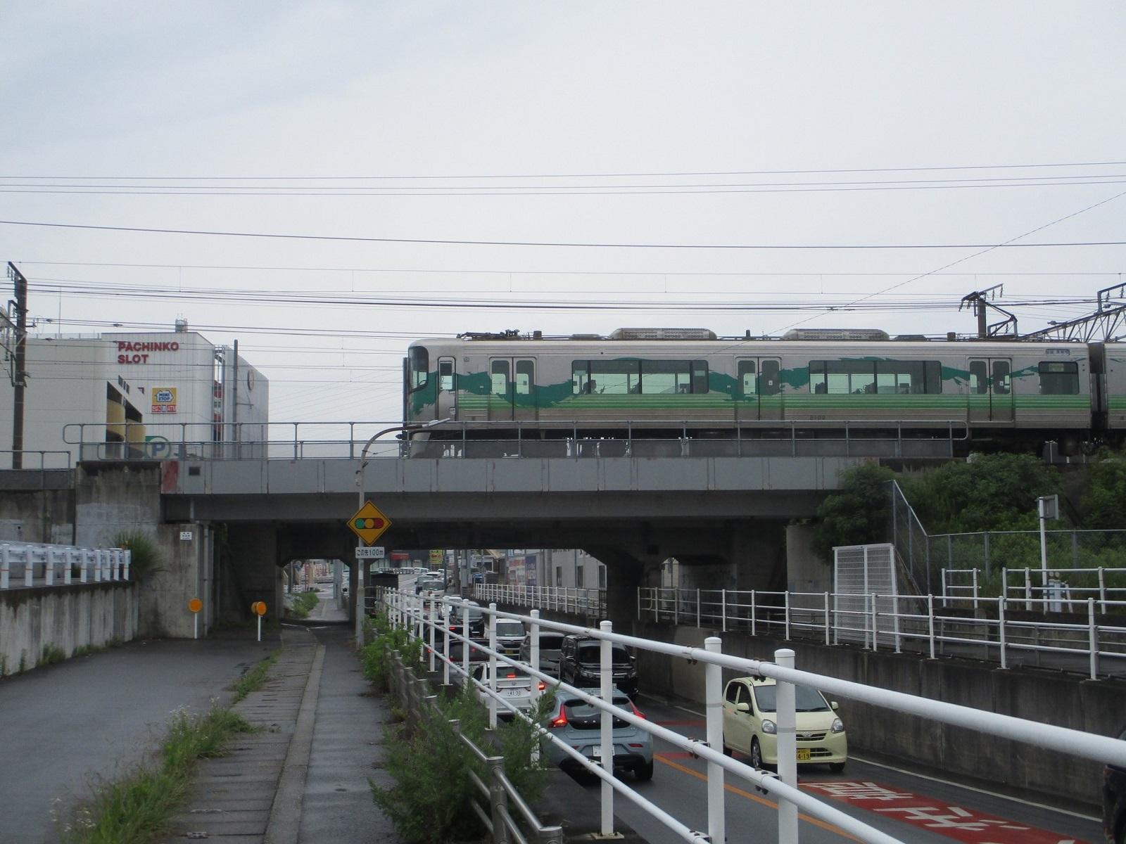 2020.6.22 (14) 東海道線 - 羽根ガード 1600-1200