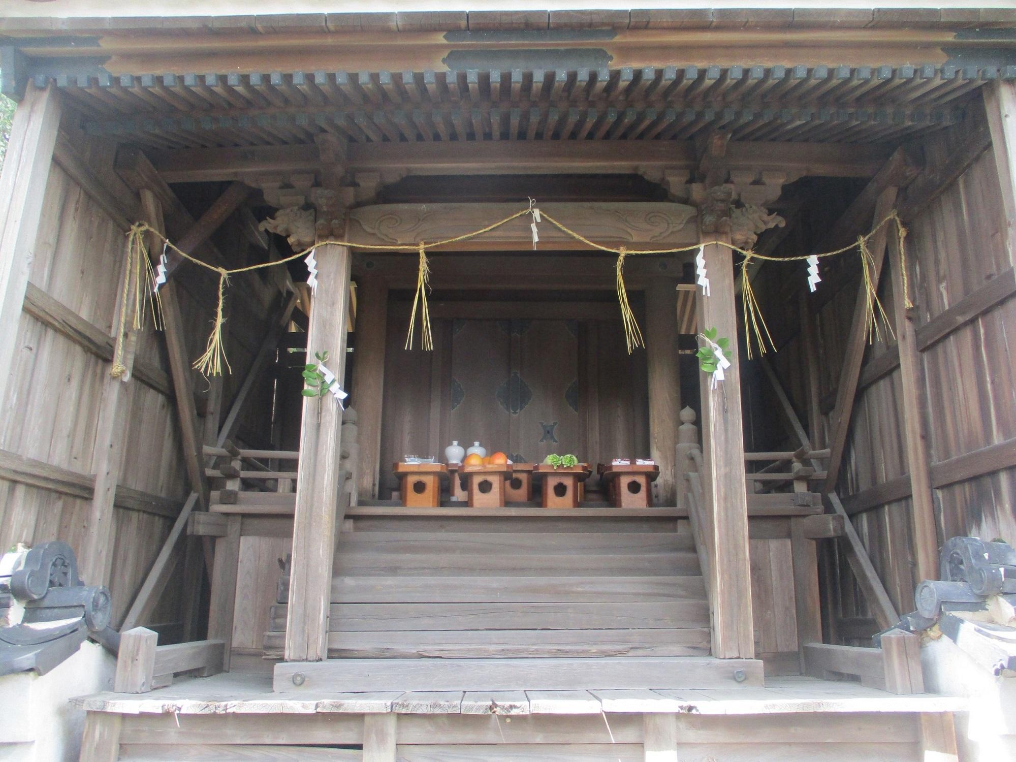 2020.6.27 (35) 桜本天神 - 本殿 2000-1500