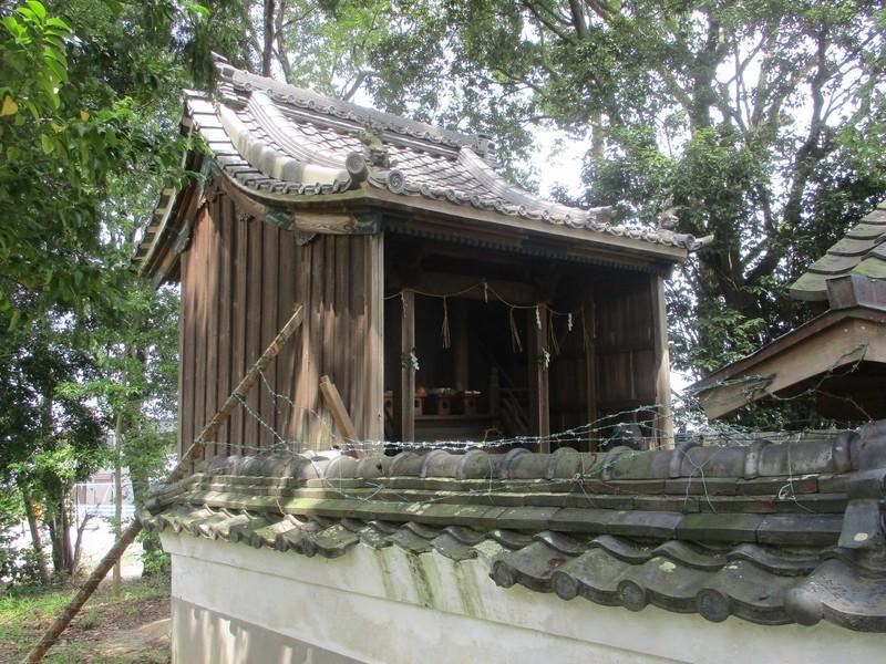 2020.6.27 (36) 桜本天神社 - 本殿 2000-1500
