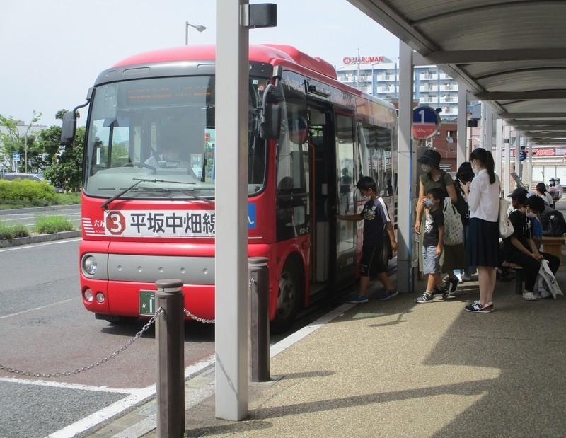 2020.6.27 (43) 西尾駅 - 平坂中畑線バス 1940-1500