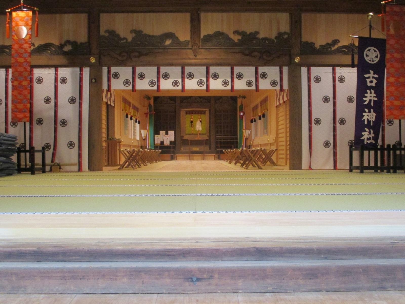 2020.6.27 (54) 古井神社 - 本社殿内 1600-1200
