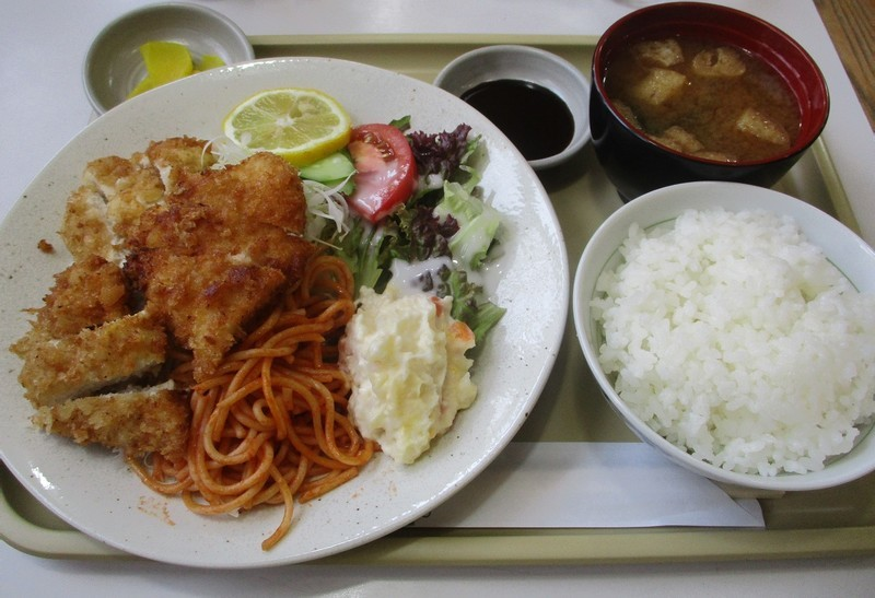 2020.6.29 (12) こねこ - チキンカツ定食 1200-820