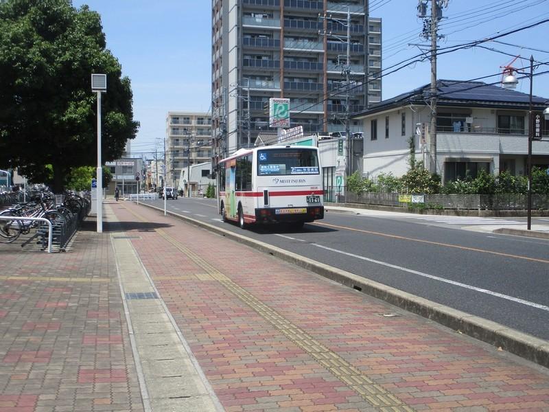 2020.6.29 (13) しんあんじょうえきみなみバス停 - しんあんじょういきバス 1600-1200