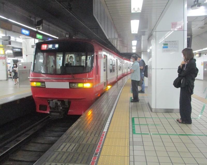 2020.7.3 (6) 名古屋 - 岐阜いき特急 1510-1200