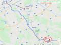 2020.7.1 近江鉄道バス - 近江八幡駅南口~西の宮バス停 1050-768
