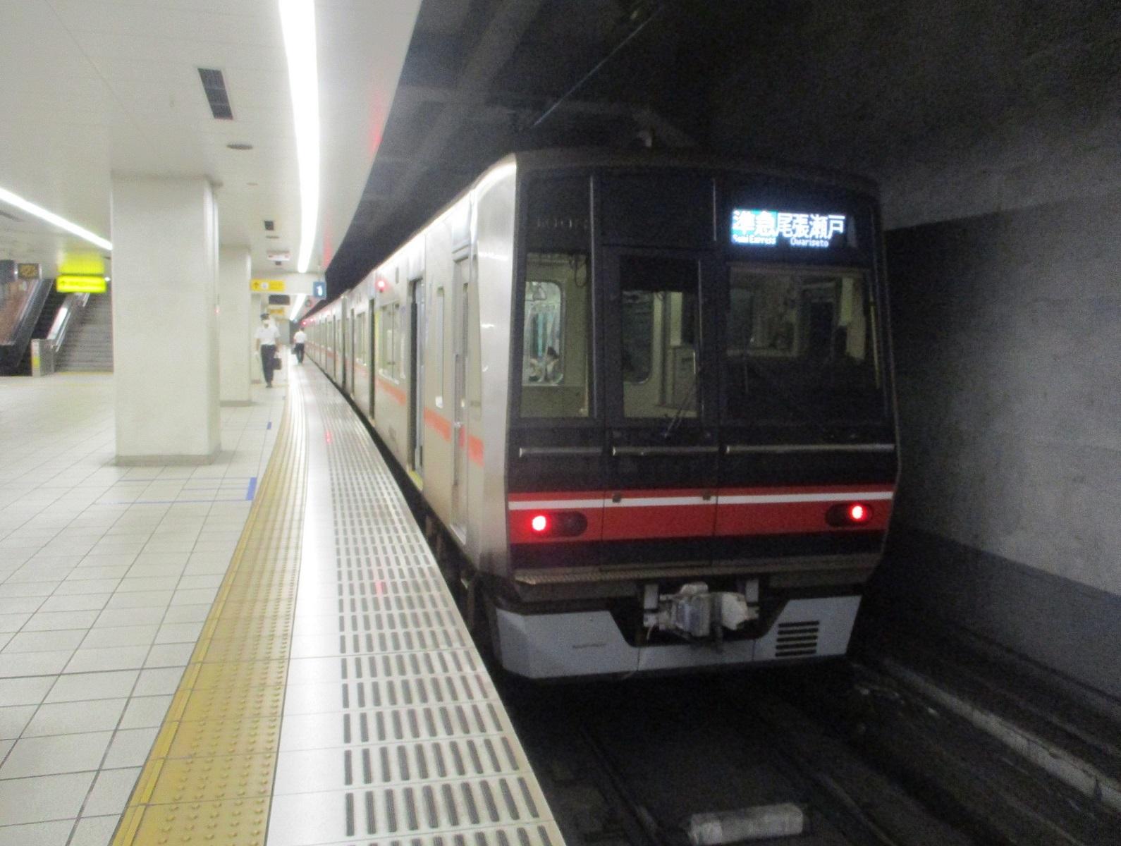 2020.7.13 (7) 栄町 - 尾張瀬戸いき準急 1590-1200