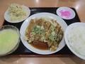 2020.7.13 (30) 三味源 - 油淋鶏定食 1200-900