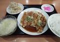 2020.7.13 (30あ) 三味源 - 油淋鶏定食 800-560