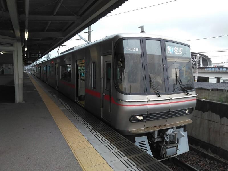 2020.7.13 (32あ) 大曽根 - 栄町いき急行(3306編成) 1600-1200