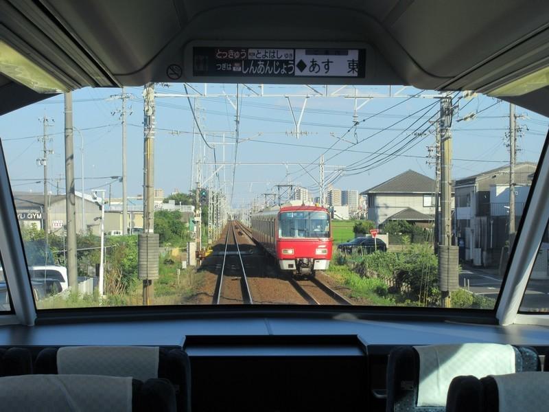 2020.8.15 (97) 豊橋いき特急 - 牛田しんあんじょう間(岐阜いき急行) 1600-1200