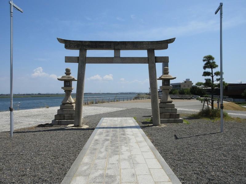 2020.8.25 (32) 桑名 - 住吉神社とりい 1600-1200