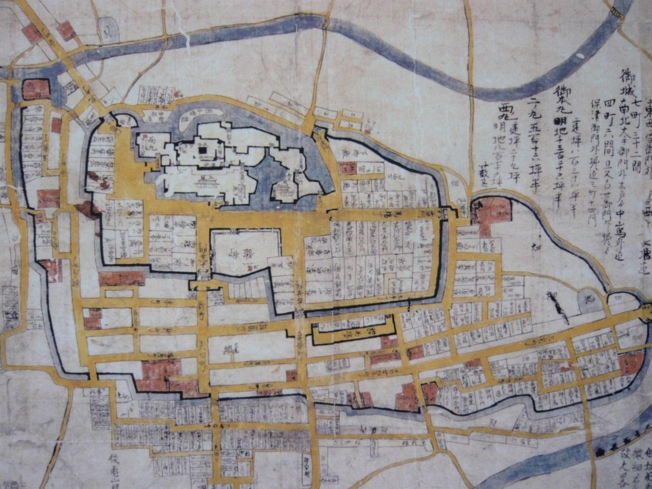 亀山城なわばり図(城とか陵墓とか) 1280-960