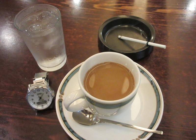 2020.9.7 (6) 珈琲館アローザ - コーヒー 1200-860