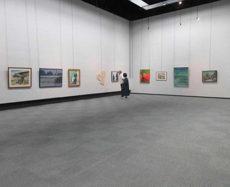 2020.9.17 (25) 西三文協美術展 - 会場のようす 1820-1480
