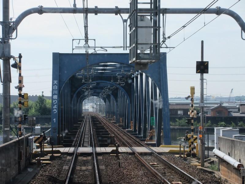 2020.9.24 (18) 河和いき急行 - 天白川鉄橋 1600-1200