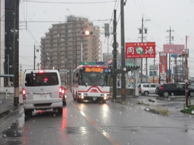 2020.9.25 (2) 昭和町東交差点 - 市民病院いきバス 1200-900