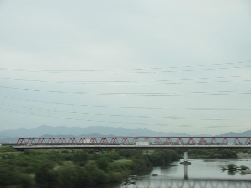 2020.10.6 (11) 博多いきのぞみ3号 - 揖斐川をわたる 1200-900
