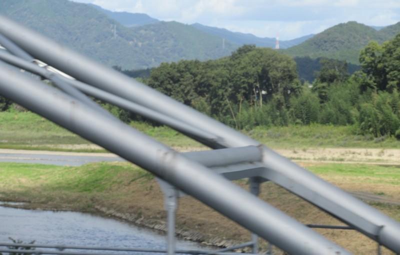 2020.10.6 (76) 福知山いきふつう - 土師川(はぜがわ)をわたる 1600-1020
