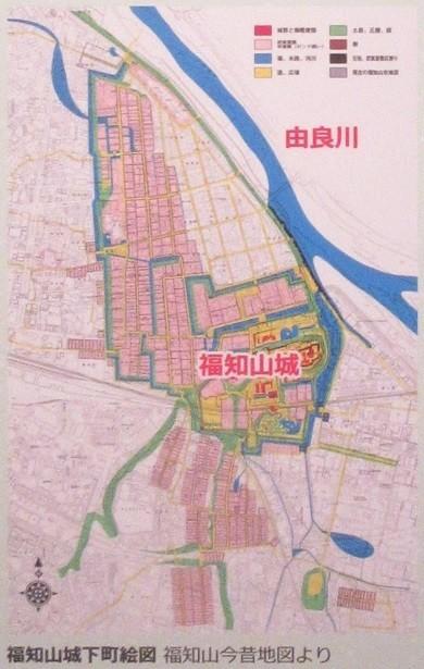 2020.10.6 (122-1) 「福知山城下町絵図」 390-615