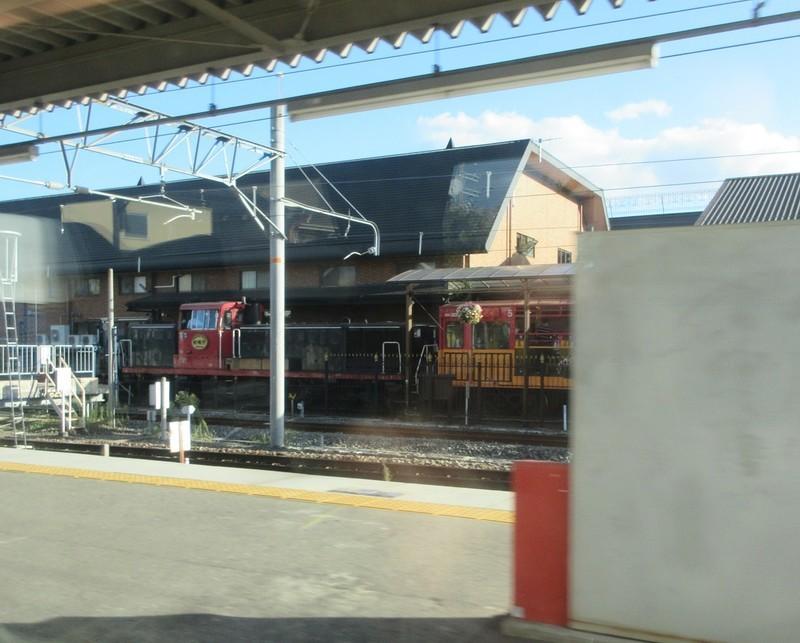 2020.10.6 (145) 京都いきはしだて4号 - 嵯峨嵐山(トロッコ列車) 1120-900