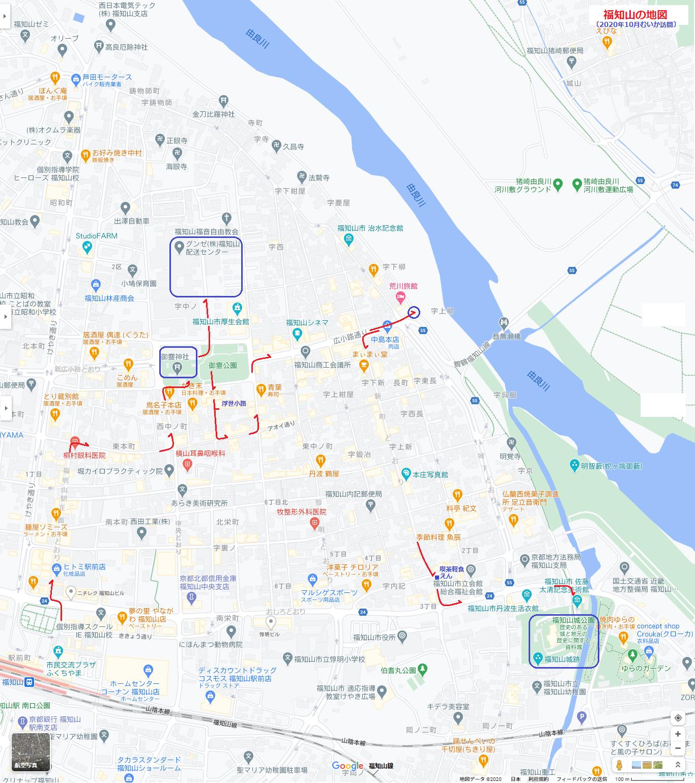 福知山の地図(あきひこ) 1366-1540