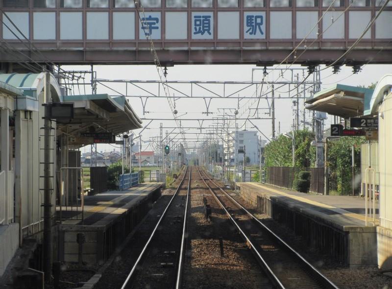 2020.10.21 (52) 岐阜いき特急 - 宇頭 1600-1180