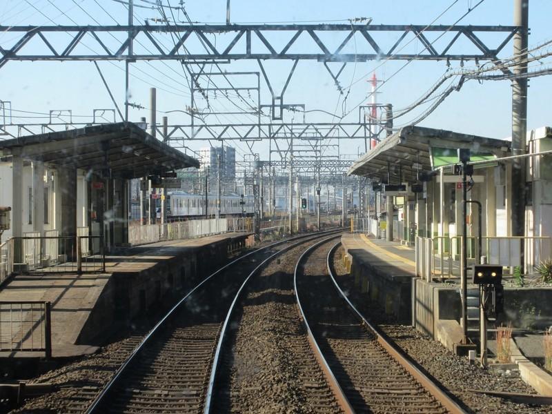 2020.11.13 (16) 松阪いき急行 - 黄金(あおなみ線電車) 1600-1200