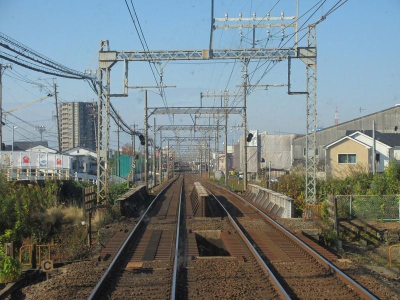 2020.11.13 (24) 松阪いき急行 - 福田川をわたる 1600-1200