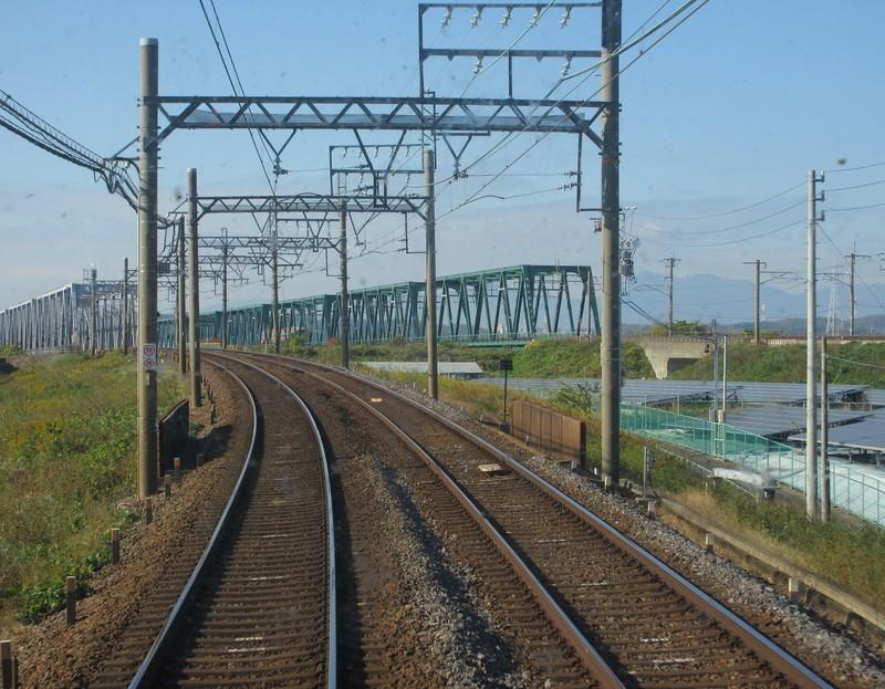 2020.11.13 (40) 松阪いき急行 - 長良川揖斐川鉄橋 1540-1200