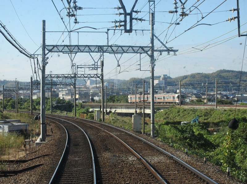 2020.11.13 (42) 松阪いき急行 - 長島桑名間(関西線桑名いきふつう) 1600-1190