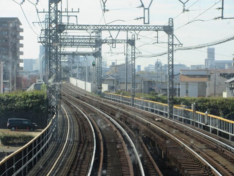 2020.11.13 (61) 松阪いき急行 - 海蔵川をわたる 1400-1050