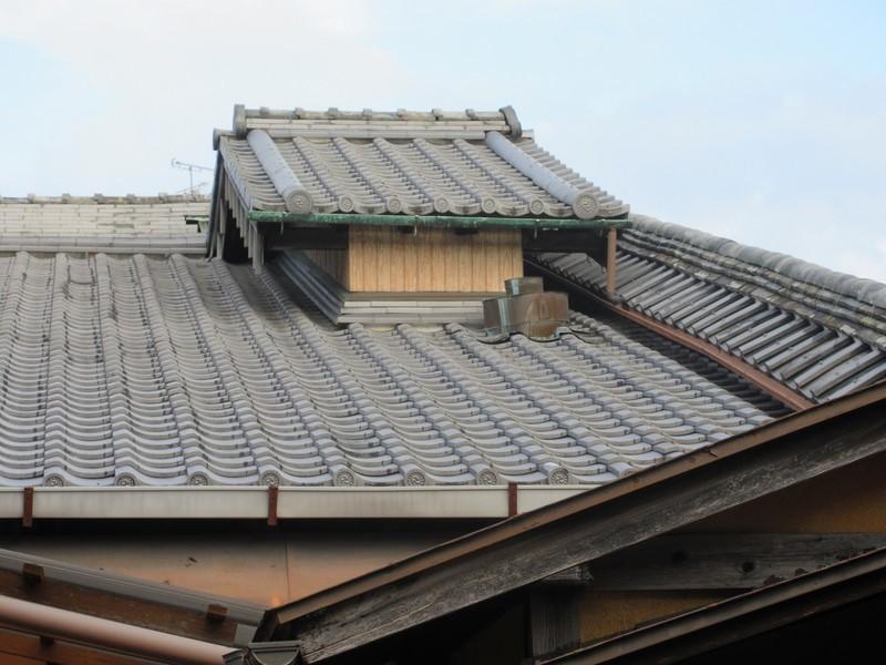 2020.11.13 (158) 旧長谷川治郎兵衛家 - やね 1600-1200