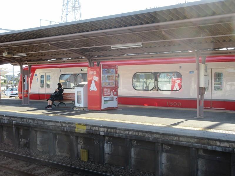 2020.12.10 (4) 矢作橋1番のりば - 試運転電車 2000-1500