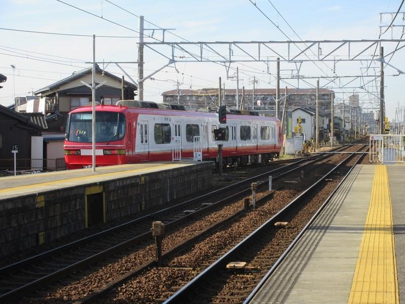 2020.12.10 (5) 矢作橋1番のりば - 試運転電車 2000-1500