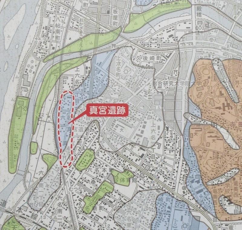 2020.12.12 (39-1) 真宮遺跡 - 遺跡周辺の地形 1000-950