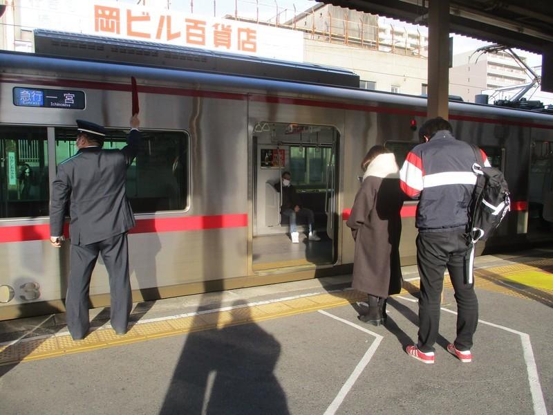 2021.1.8 (18) 東岡崎 - 一宮いき急行 1600-1200