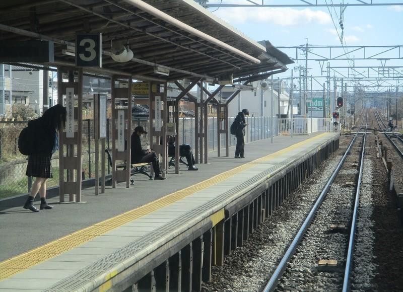 2021.1.19 (9) 東岡崎いきふつう - 矢作橋 1600-1160