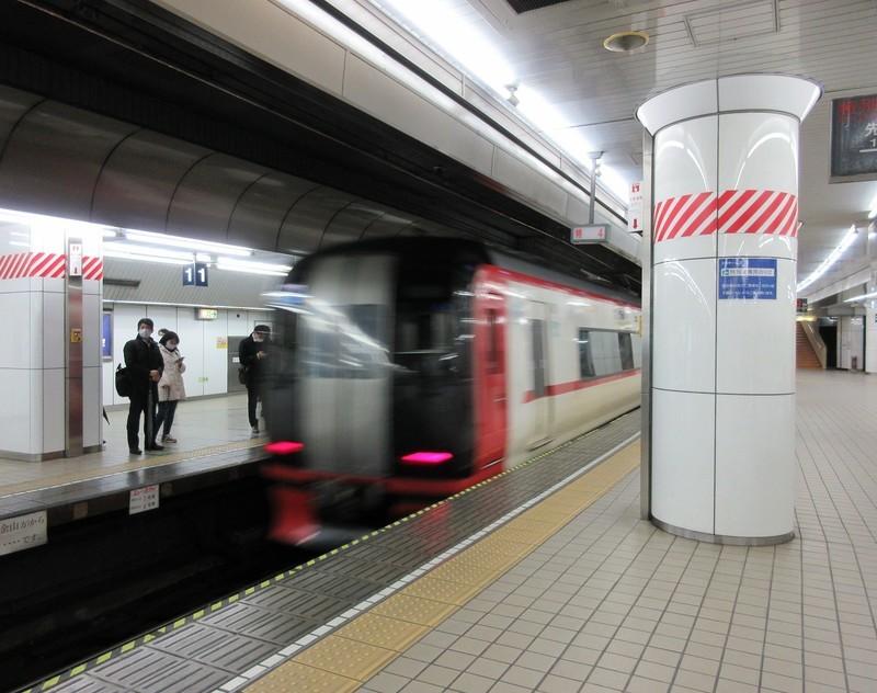 2021.2.15 (22) 名古屋 - 岐阜いき特急 1520-1200