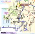 2021.2.22 豊橋南部の鉄道バス路線図(あきひこ) 770-750