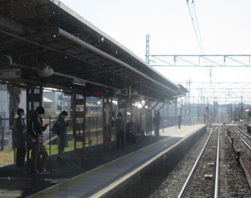 2021.3.23 (9) 東岡崎いきふつう - 矢作橋(やはぎばし) 1520-1200