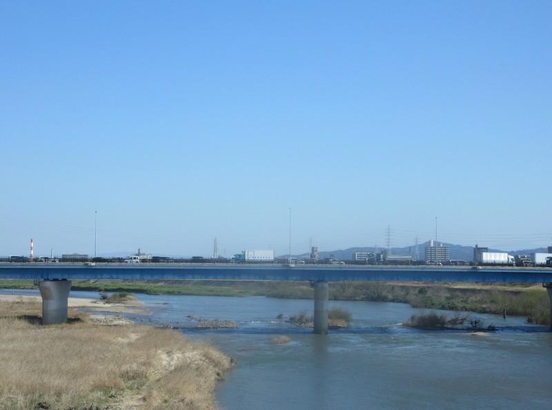 2021.3.23 (10) 東岡崎いきふつう - 矢作川をわたる 1590-1180