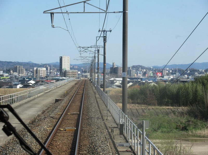 2021.3.23 (71) 岡崎いきふつう - 矢作川をわたる 1590-1190