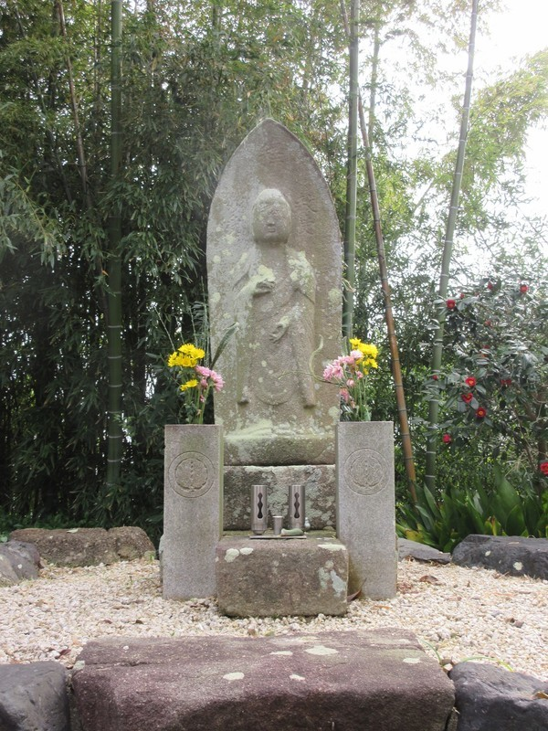 2021.3.30 (43) 明法寺 - 中川覚右衛門墓碑 1500-2000