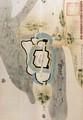 あんじょう城古図(複製) 1160-1670