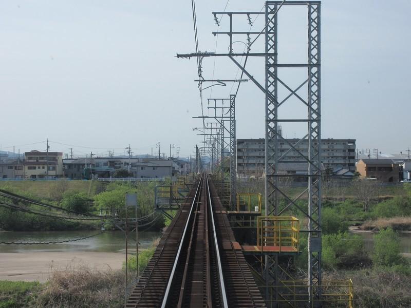 2021.4.8 (4) 吉良吉田いきふつう - 矢作川鉄橋 1600-1200