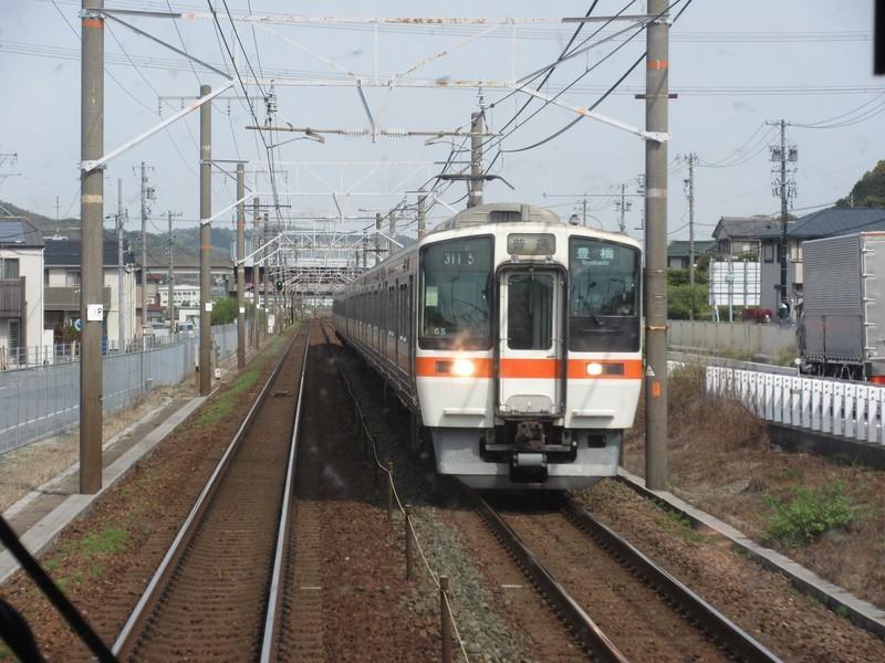 2021.4.8 (42) 岐阜いきふつう - 三ケ根幸田間(豊橋いきふつう) 1600-1200