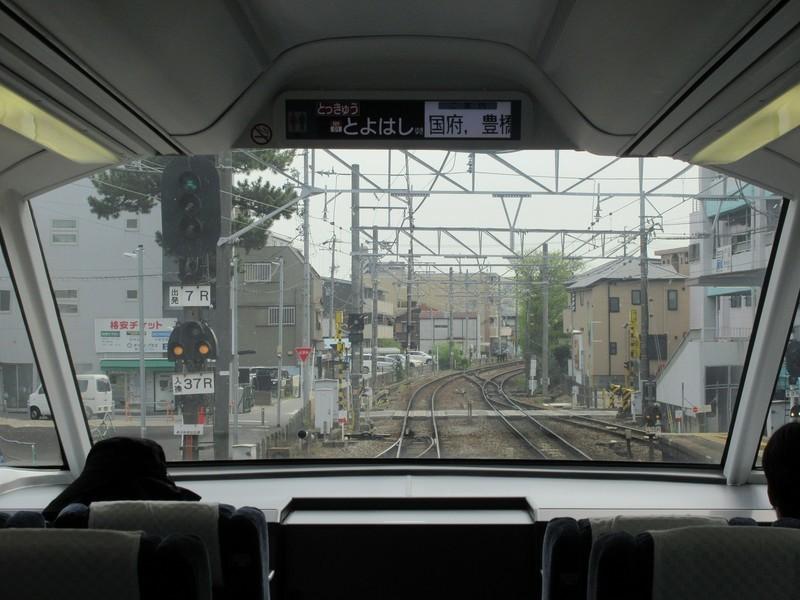 2021.4.8 (59) 豊橋いき特急 - 東岡崎しゅっぱつ 1600-1200