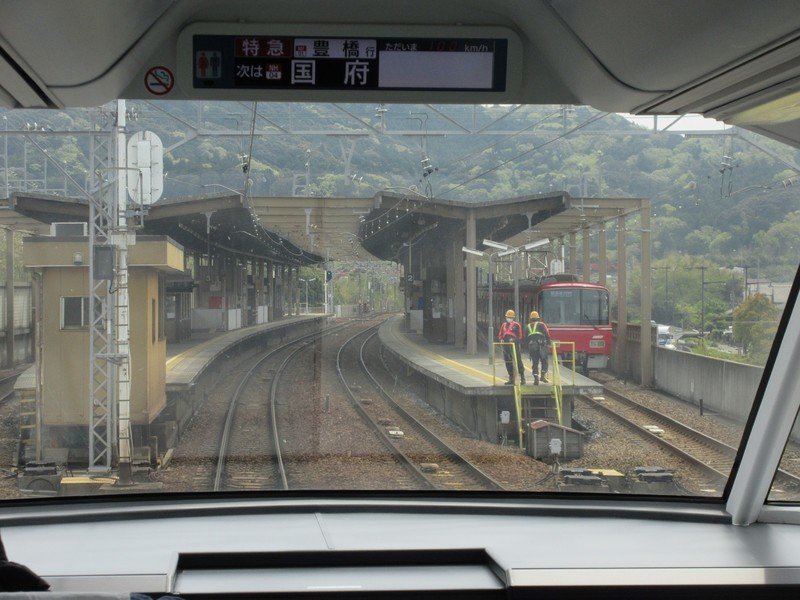 2021.4.8 (61) 豊橋いき特急 - 本宿 1600-1200