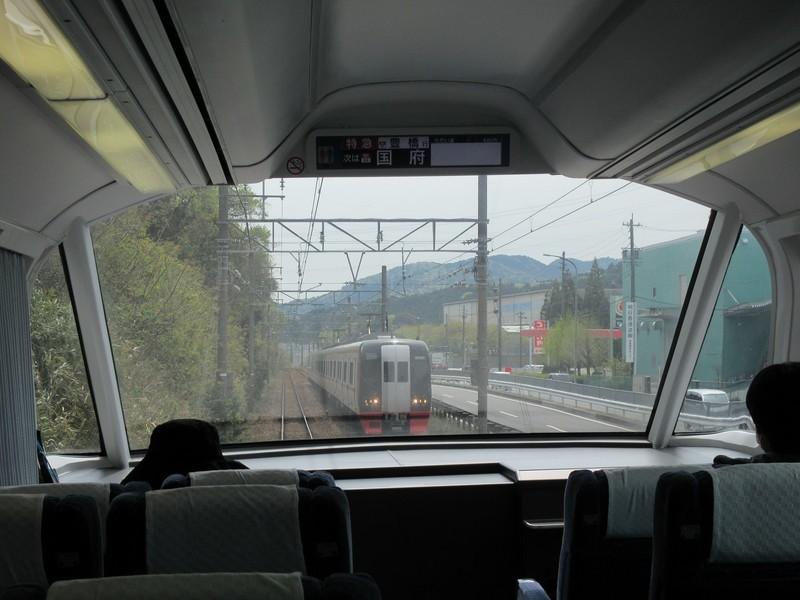 2021.4.8 (63) 豊橋いき特急 - 本宿名電長沢間(新鵜沼いき快速特急) 1600-1200